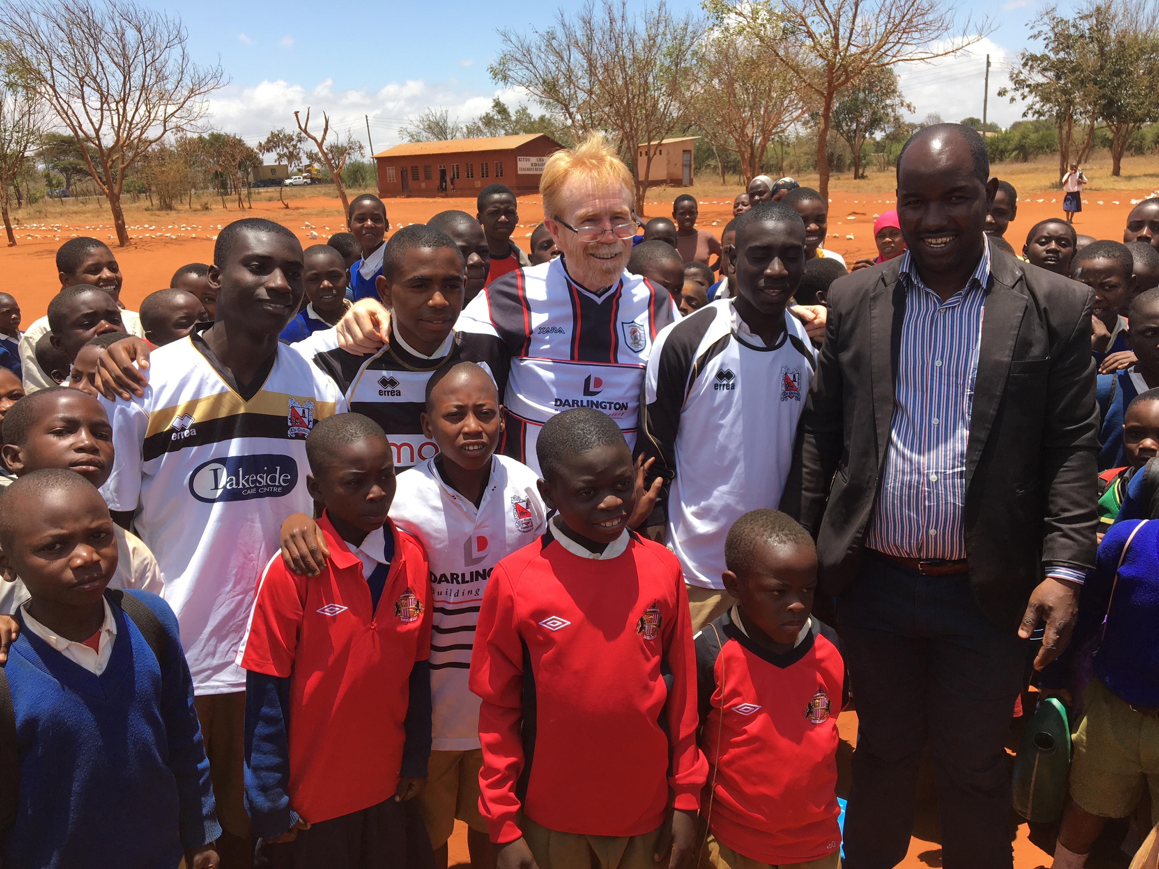Shirts for Africa update - News - Darlington Football Club