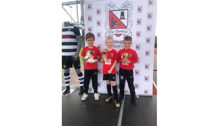 Congratulations to our Under 7 Feethams!