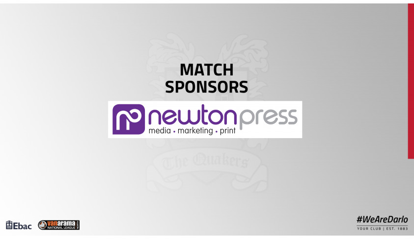 Thanks to our match sponsors!
