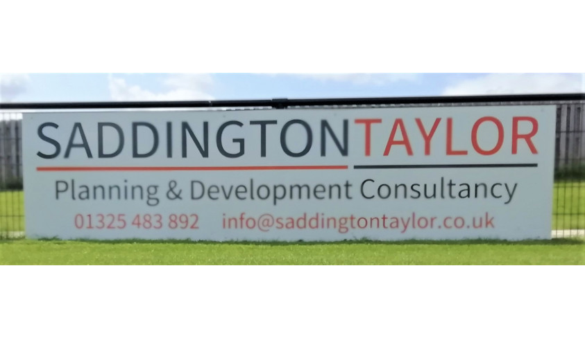Local company takes out advert board at Blackwell Meadows