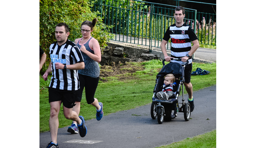 Pics from the Parkrun -- 2