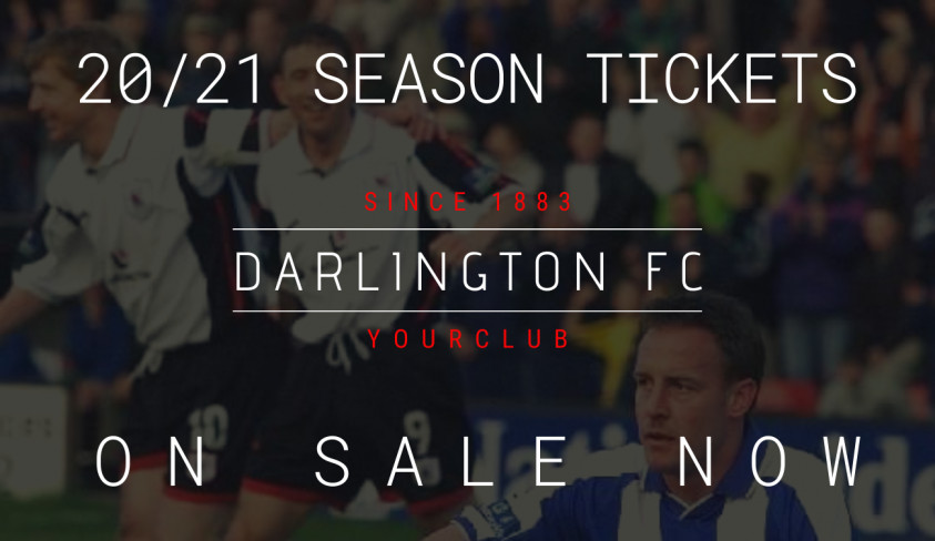 Early Bird Season Tickets for Season 20/21 now on sale -- good start to sales