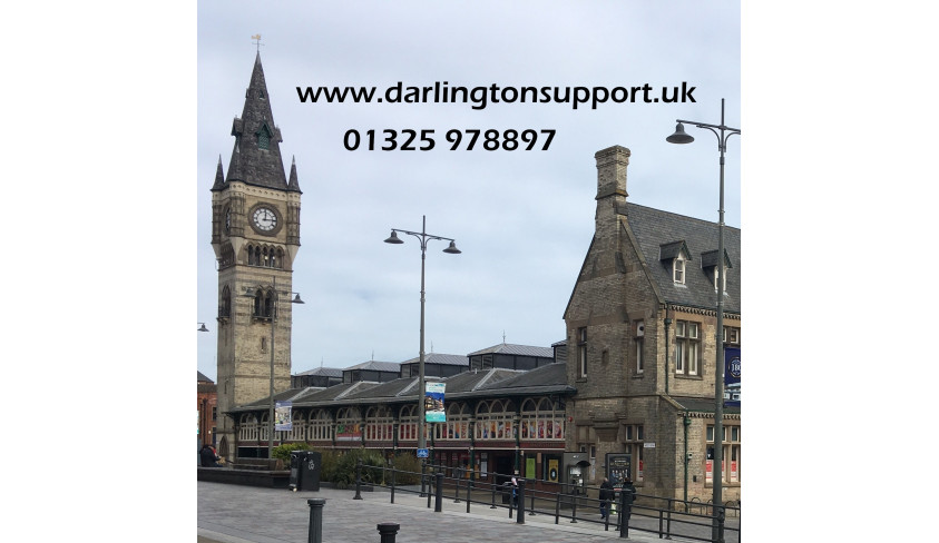 Community partnership with Darlington Support goes from strength to strength