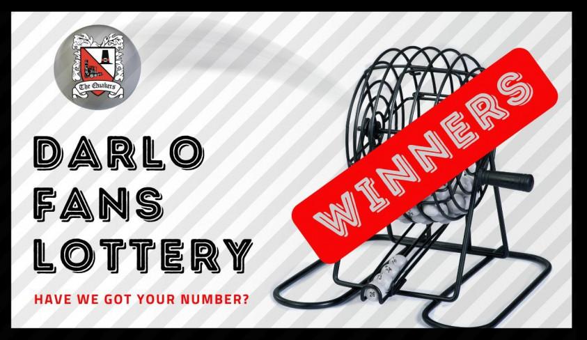 Weekend lottery winner