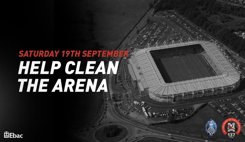 Clean the Arena on Saturday
