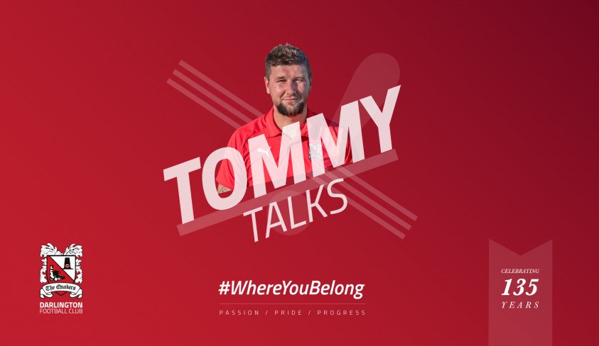 Tommy: We've got to move on quickly now