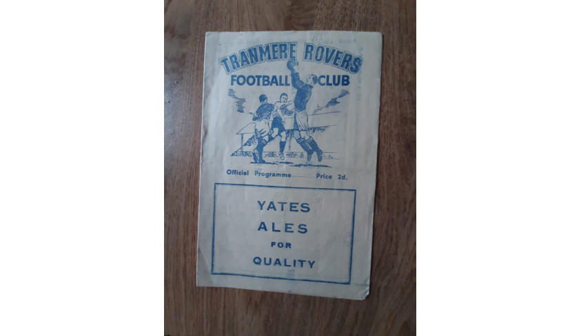 Programmes from the 1954-55 season -- part 3