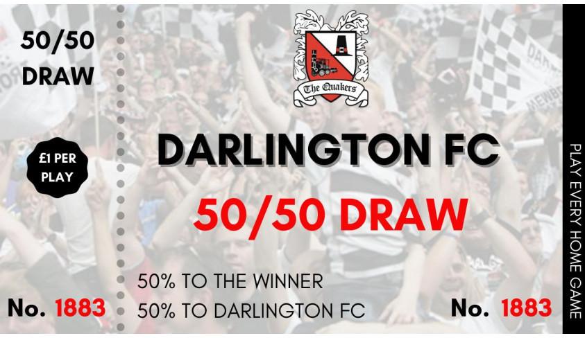 Virtual 50/50 draw March 27th