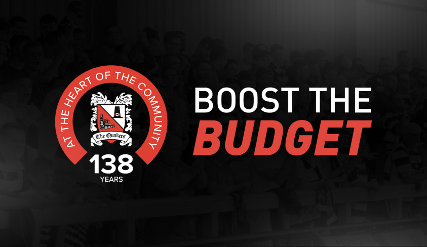 Boost The Budget 2021/22