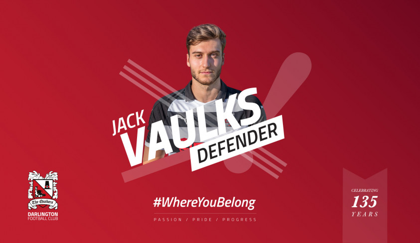 Jack Vaulks goes out on loan to Pickering