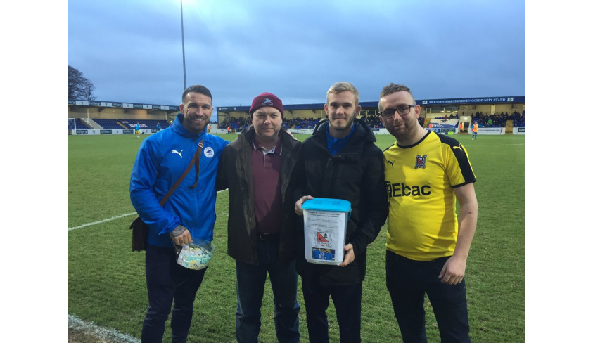 Chester thank Quakers fans for raising over £400