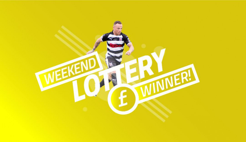 Weekend lottery winner