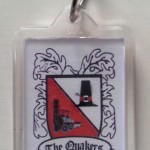 Plastic Keyring with Crest