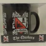 Black Mug with Multi Crest Design