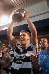 terry galbraith holding trophy