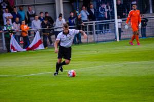 Kevin Burgess in action against Sunderland