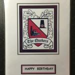 Birthday Card - Crest