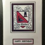 Birthday Card - Crest