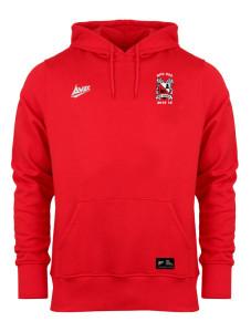Red Fleece Hoody