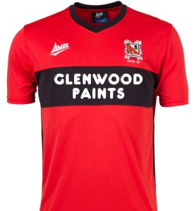 Darlo Away Strip 2015-16