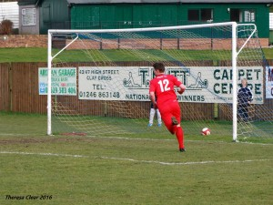 Liam Hardy scores at Matlock