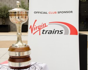 trophy and Virgin Trains logo