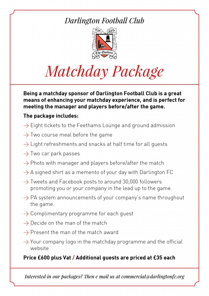 DFCSponsor_MatchdayPackage