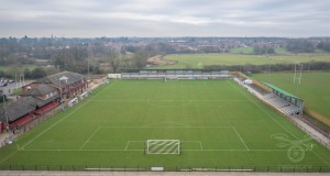 aerial view of blackwell meadows
