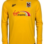 yellow goalkeeper jersey