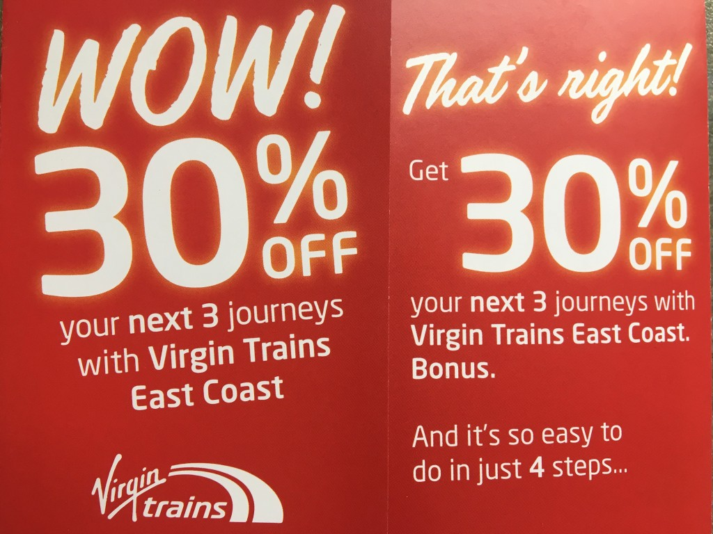 11th July Virgin 30 per cent x 3