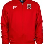 Fusion Woven Track Jacket Red