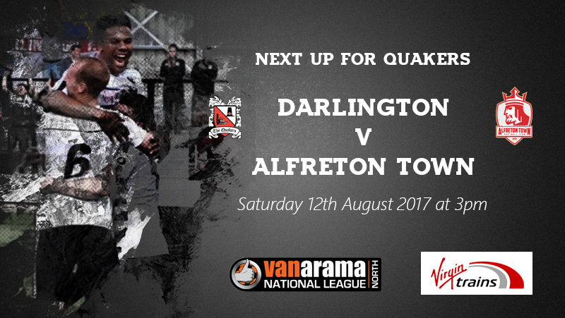 11th august Next up Alfreton Town