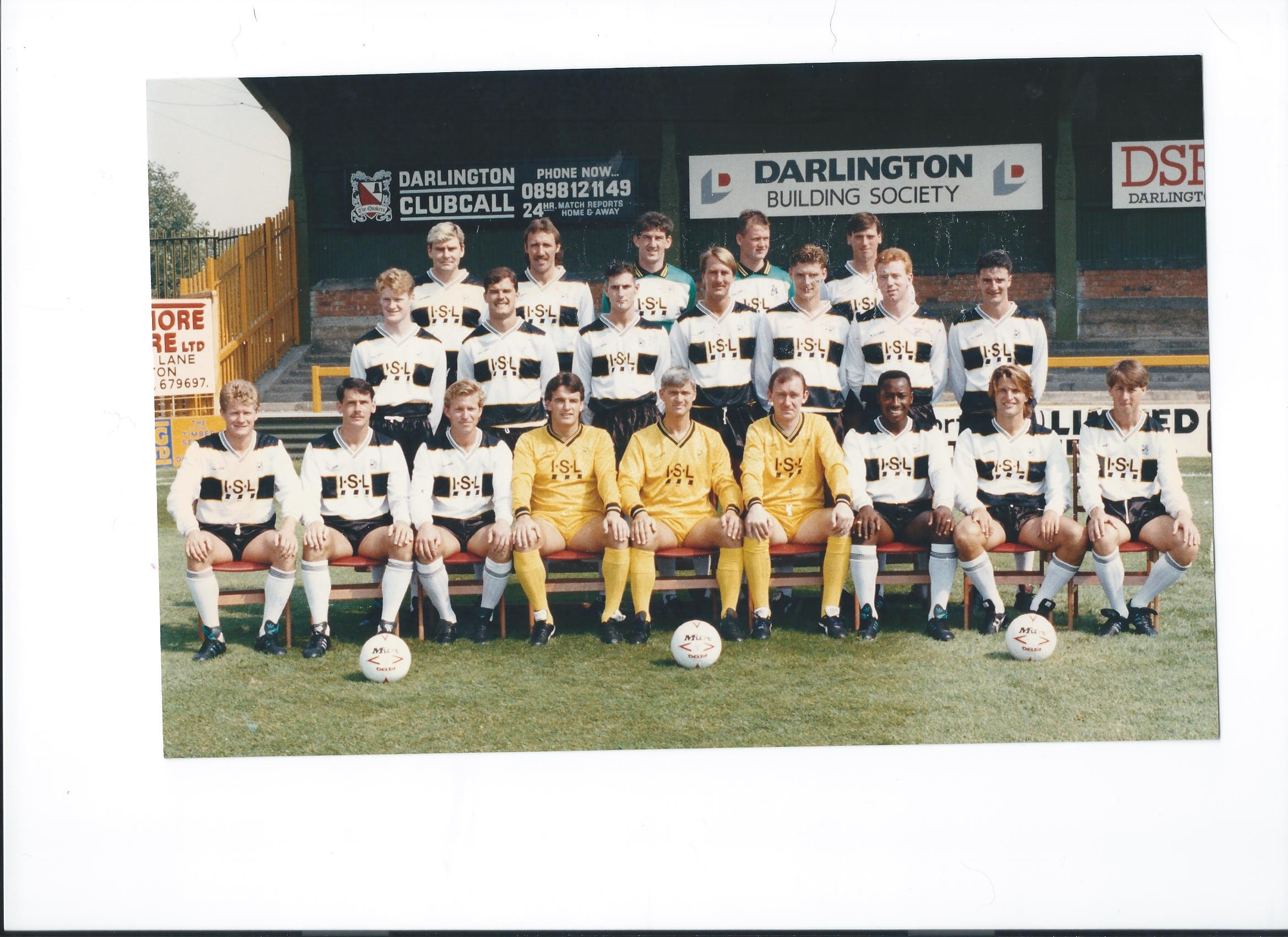 who are these in the 1990  91 squad
