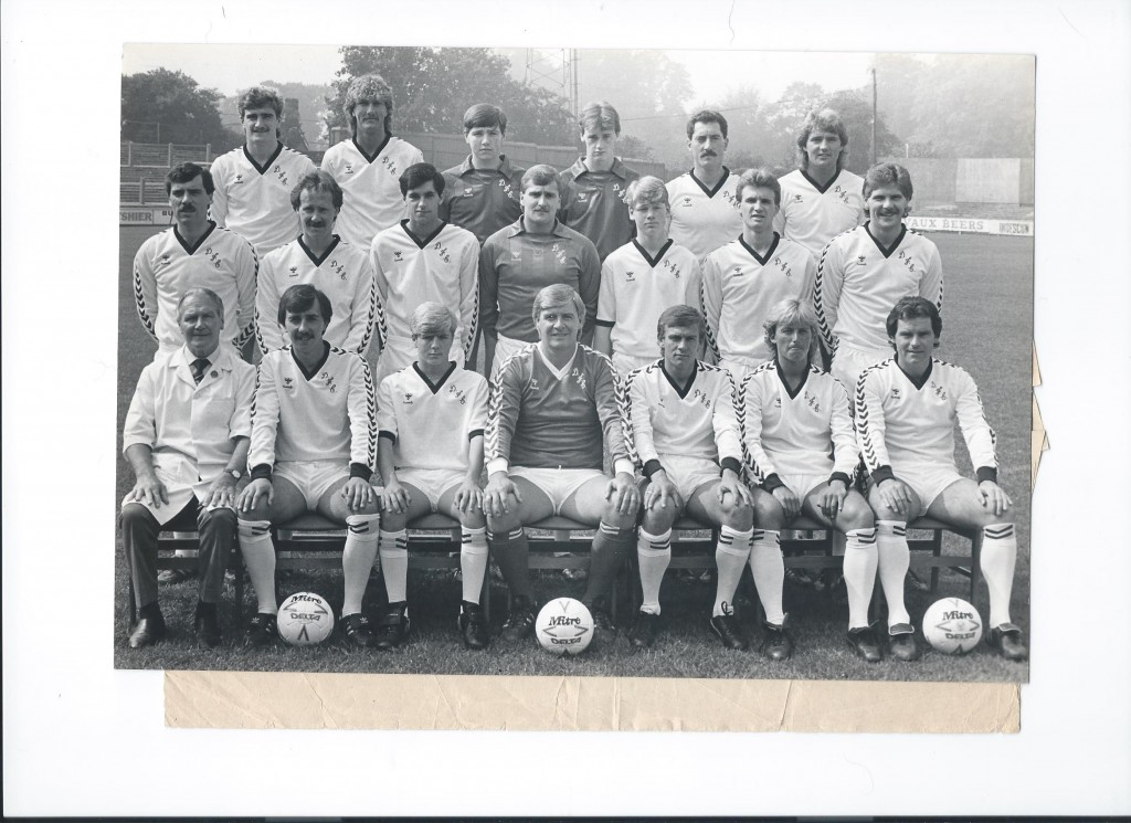 Darlington FC team pic 84-85