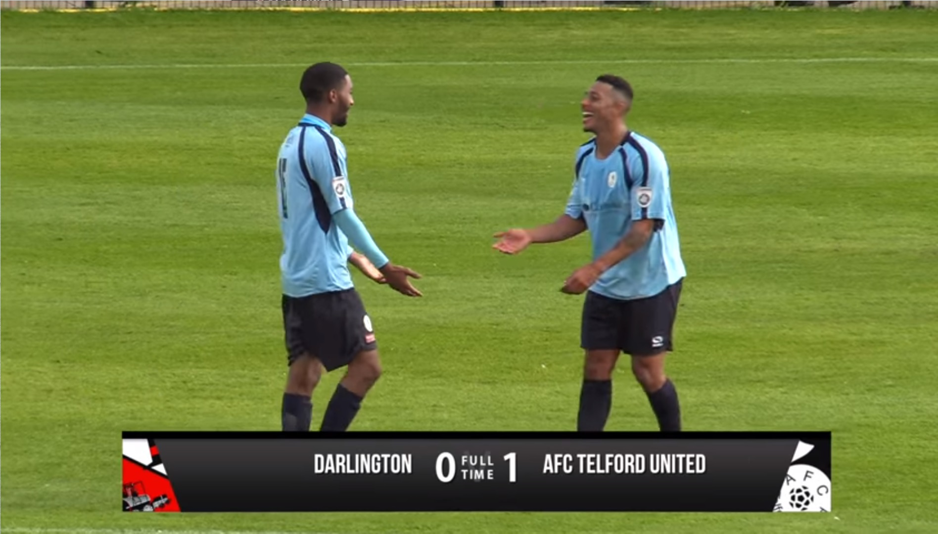 Darlington 0-1 AFC Telford United - Vanarama National ...