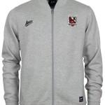 Fleece jacket grey