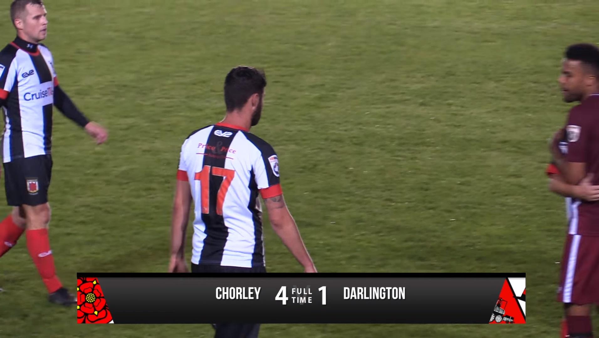 Chorley 4-1 Darlington - Vanarama National League North ...