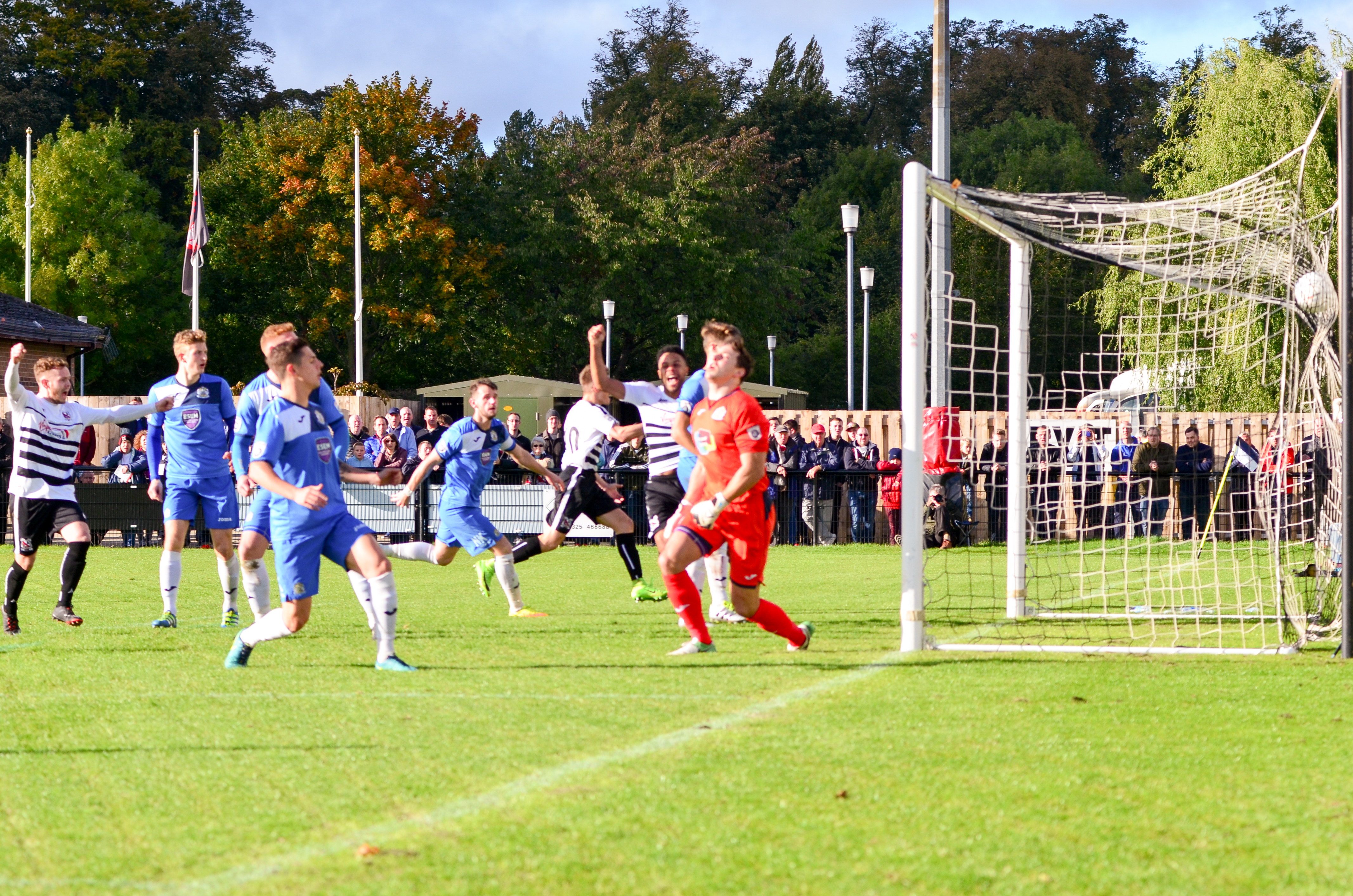 Nick's Pics 2 - more action from our game against ...