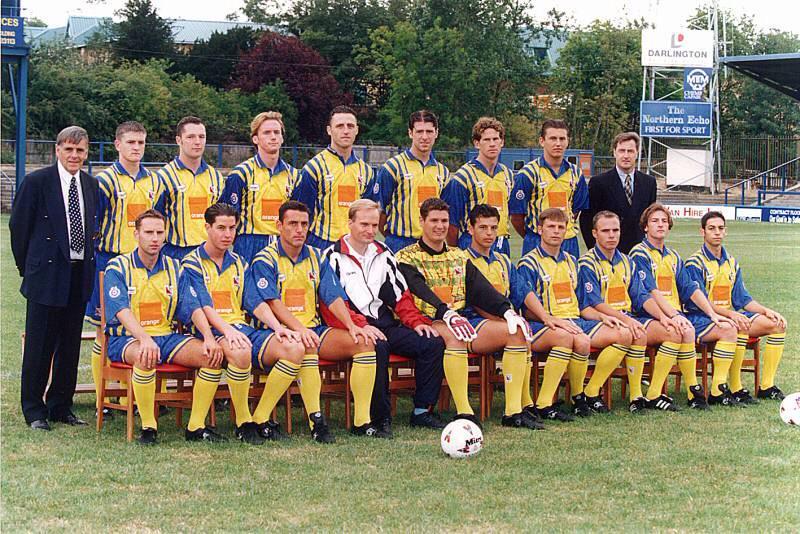 Darlington team pic 1995-96