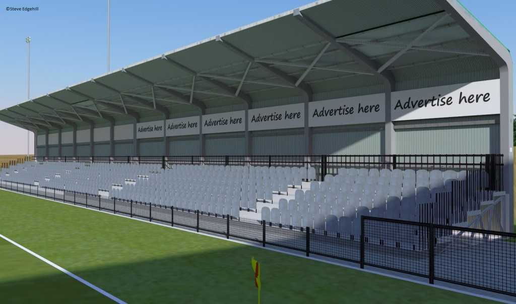 30th January new stand mock up 1