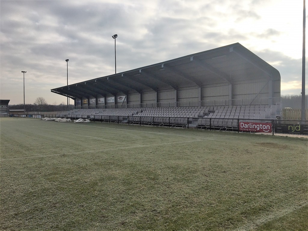 23rd February New seated stand 1