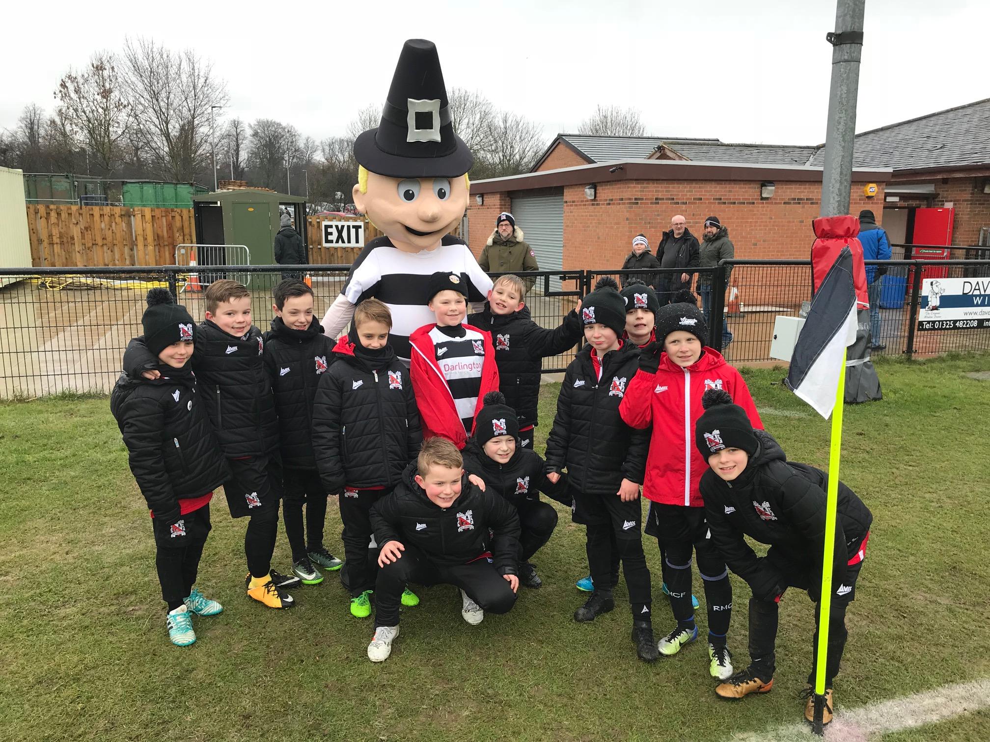 Mr Q makes successful return debut - News - Darlington Football Club