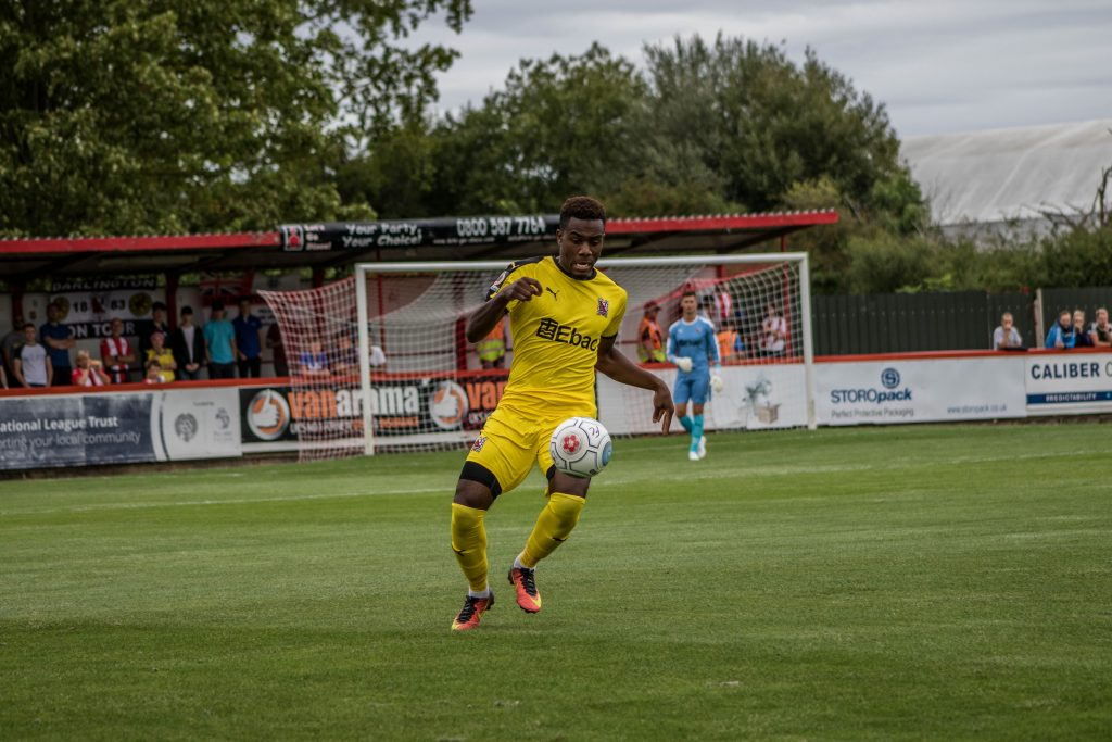 Luke Trotman at Brackley