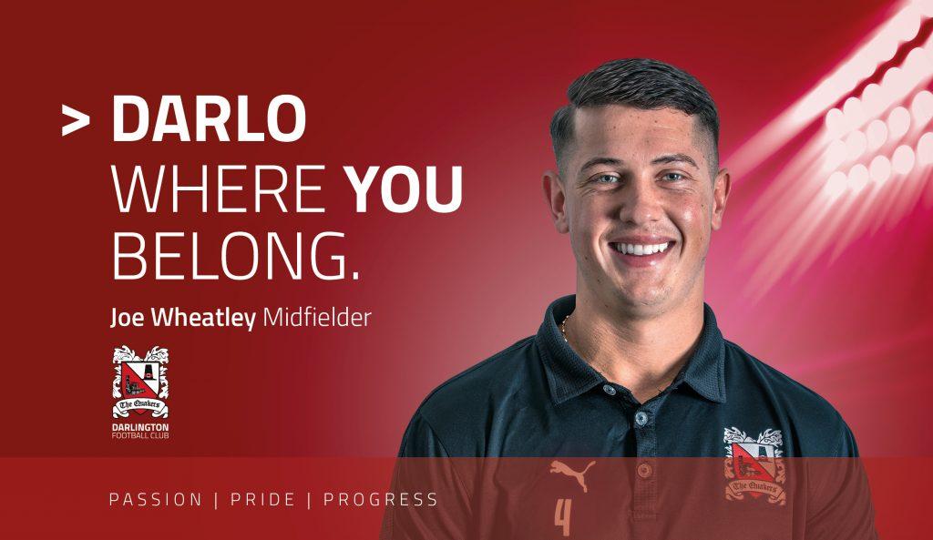 Where you belong Joe Wheatley