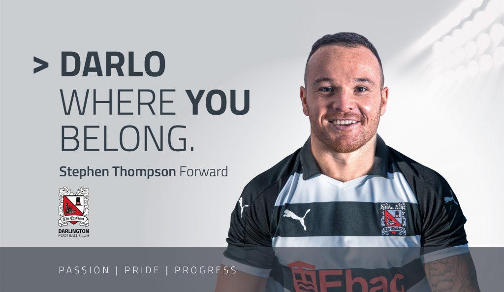 Where you belong Stephen Thompson